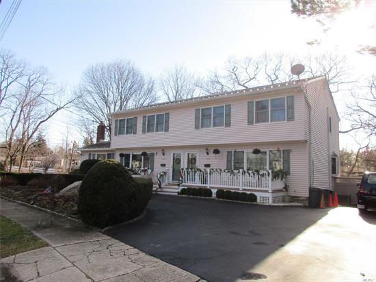 Legal Two Family With Easy Access To Huntington Village! Separate Meters, 8 Year Old Gas Furnace And 4 Year Old Cesspool. Designer Patio, Fenced Yard, Great Investment Property. A Must See...