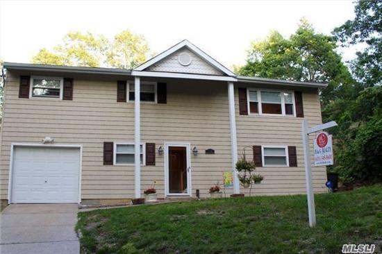 Gorgeous & Spacious Home,  Hardwood Floors, Updated Kitchen And Bathroom, Large Fenced In Backyard With Deck, 4 Bedrooms, 3 Upstairs And 1 Downstairs 2 Full Bathrooms, One Upstairs, One Downstairs, Ose, Possible M/D Very Spacious !! Lots Of storage Turn Key !!!