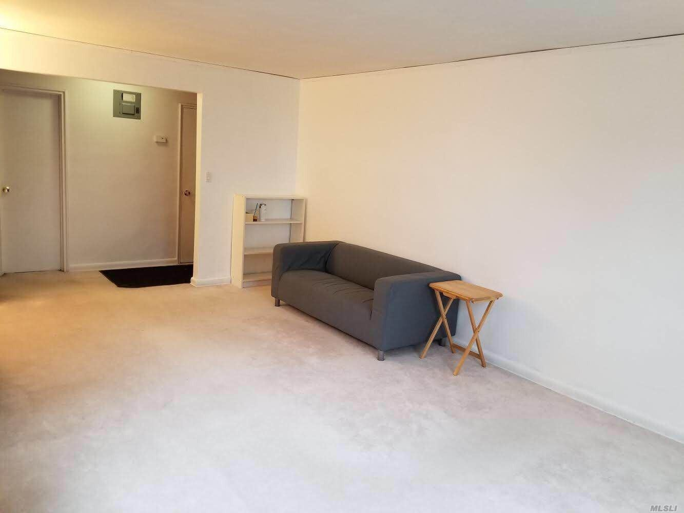 A Huge And Bright Studio With Many Closets And A Walk In Storage Room. A Renovated Bathroom. Close By Bus Stops, Shopping, Restaurants, And A Movie Center. Laundry Facilities In Basement. The Rent Includes A Tv, A Sofa, A Dinning Table. Application Fee $300.