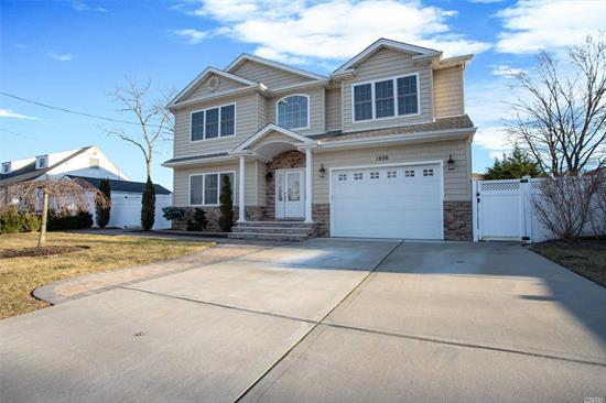 Better than New! 2014 Pristine Colonial Located In Barnum Woods Area Has All The Bells And Whistles. Highest Quality Materials Used. Tray Ceilings, Architectural Roof,  Moldings, Gleaming Wood Floors, Wood-Burning Fireplace. Huge Basement Hi Ceilings. Resort Yard--In-ground Pool Now Opened, Stone N Wood Pergola, Fire Pit, Designer Pavers thruout.Tax Grievance Filed. A Must See! Seller Ready for a Deal. Award Winning School District.
