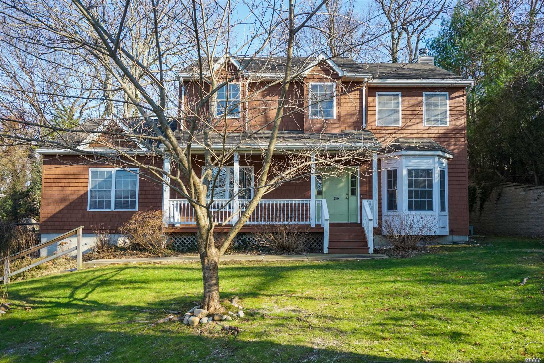 Attention To Detail In This Custom Built Colonial In Port Jeff Village. Chef's Kitchen Open To Den With Gas Fireplace. Vileroy & Boch Tiles In Bathrooms. Two Master Bedrooms And Baths - One On First Floor. Custom Moldings. Hardwood Floors. Cac. Gas Line For Bbq In Back. Sound System Inside And To Backyard. Famed Port Jefferson Schools!
