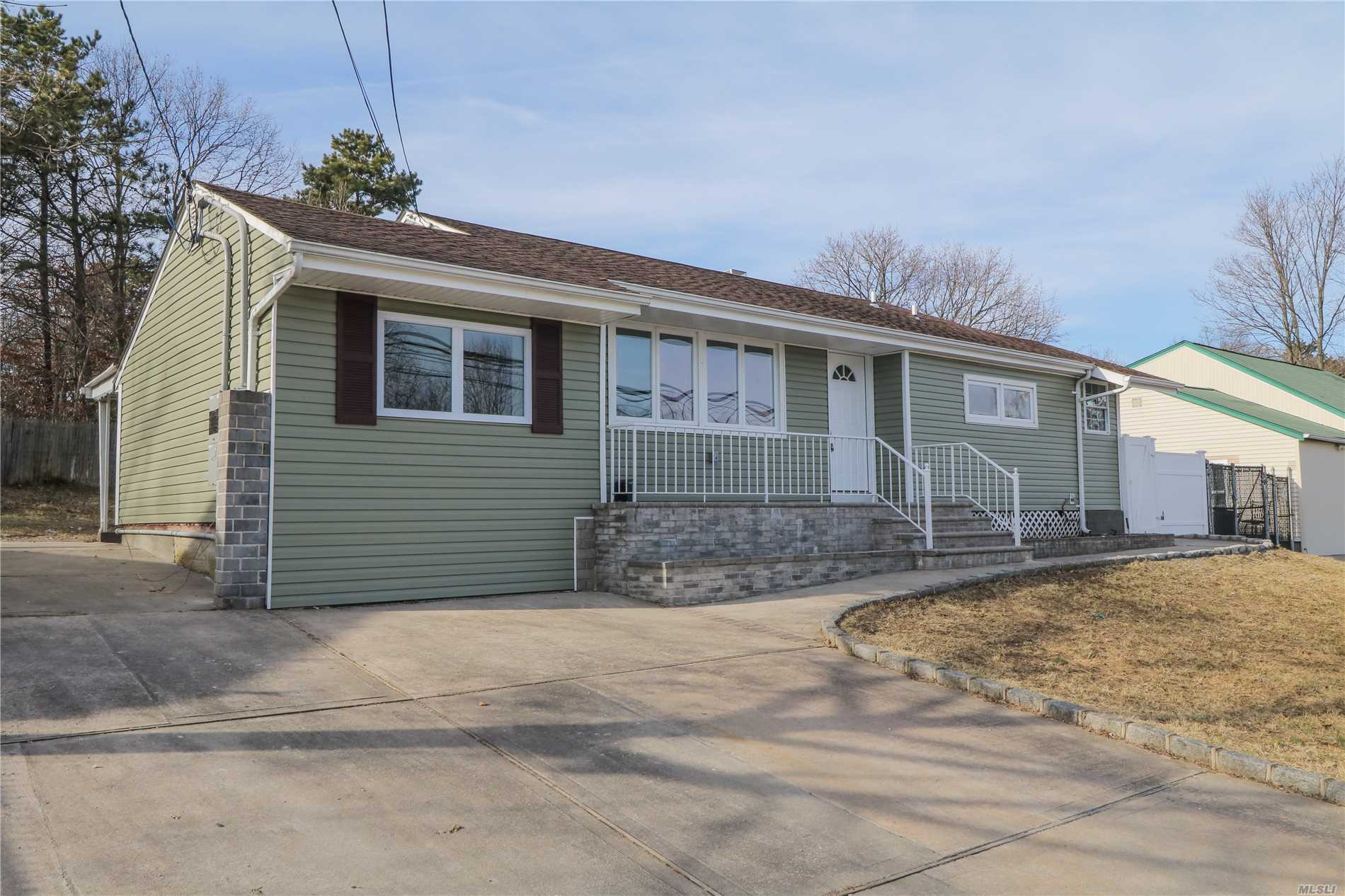 Newly Renovated 4 Bed, 2 Bath Home With Full Finished Basement. Property Is Equipped With Hardwood Floors, Brand New Kitchen And Stainless Steel Appliances.
