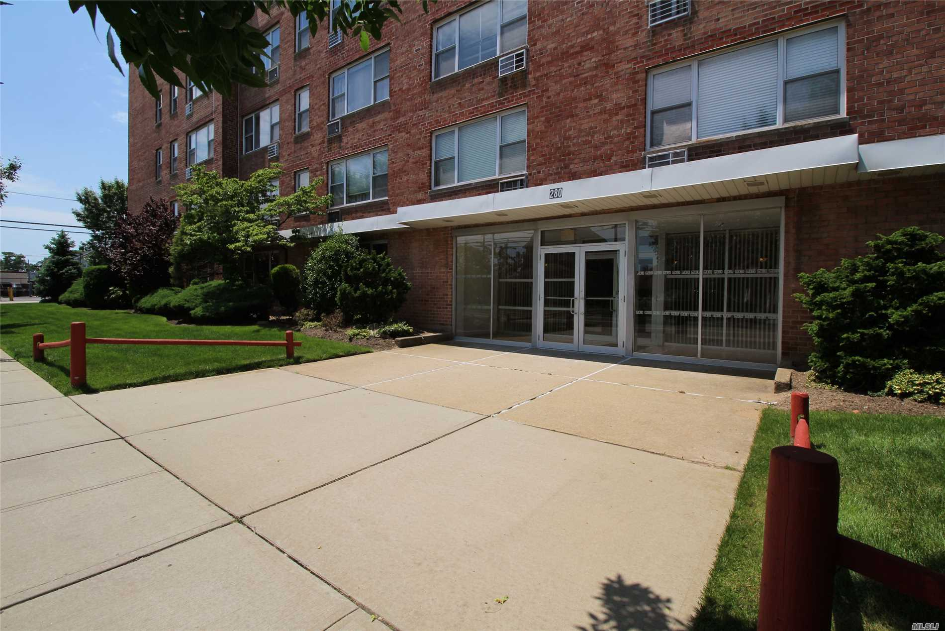 Great Opportunity To Own Rather Than Rent In A Well Maintained And Financially Secure Building. Unit Is On The Top Floor & Is A Corner Unit. Plenty Of Sunlight. No Pets Allowed And No Smoking Allowed. One Parking Spot Is Designated To Unit At No Charge. Parking Is On Site . Security Cameras In Parking Area And Every Floor. Washer And Dryer On Each Level. Conveniently Located To All. Make This Year The Year You Become An Owner! Maintenance Does Not Include Star Reduction. Currently $95 Per Mo
