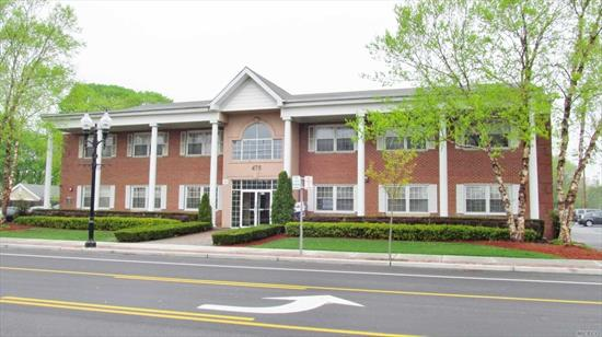 2 Separate Offices Available: 1400Sf, 1500Sf & @ $12/Sf (Includes Cam & Base Taxes). Plenty Of Parking, Elevator, Vending Machines, Security, Cleaning, Outside Lighting.....