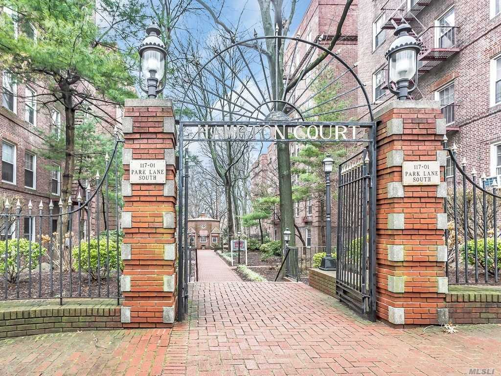 Come Walk Thru A Tranquil Garden Court Yard W/Security Guard, To This Pre-War One Bedroom Unit. High Ceilings Thru Out, Open Entry Way W/Closet, Eik & Bath Approx 3Yrs Updated. Eik W/Views Of The Park, Granite Counters & Solid Wood Cabnets. Full Bath W/Vent/Light/Bluetooth Speaker, Huge Cedar Closet In Hall Way. Huge Livingrm, And Large Bedrm W/ Closet. Close To All So Many Other Features, Need To Schedule A Showing To Get The List