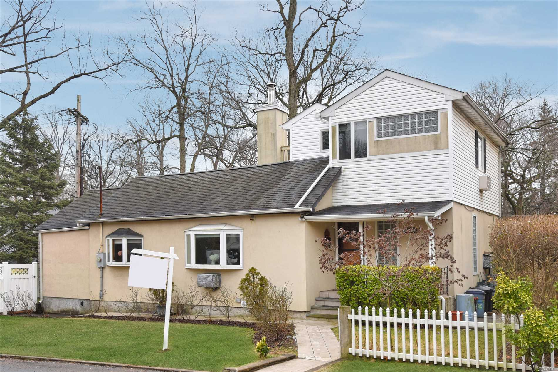 Just Arrived- Immaculate, Bright & Cozy Home In Beautiful Holliswood Neighborhood. Just Pack Your Bags And Move Right In! Many Upgrades Include-New Windows, Renovated Bathrooms; New Boiler (2 Years Old); Fenced-In Yard; Extension Added In 2002;Convenient To Synagogue; Q17 To #7 Train; F Train; P.S.178.