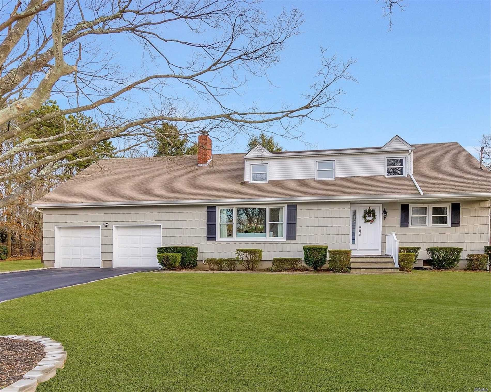 Space & Elegance Take On A Whole New Meaning With This 3018 Square Foot Colonial Home. Tastefully Totally Renovated Offering Space For Everyone Even A Loft For Those Game Enthusiastic's, Or A Place Your Guests Can Spend The Night. Located In A Deeded Beach & Boating Community, So Bring Your Water Toys. Choice Of Three High Schools: Westhampton, Center Moriches & Eastport/South Manor. A Lot To Offer For The Price With Reasonable Taxes On A .47 Piece Of Property. Don't Delay Call Today!