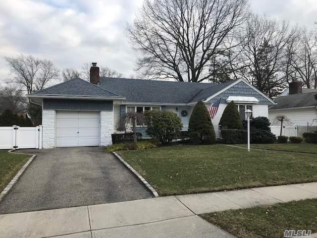 Wow What A Great Find, This Ranch Features All Large Spacious Rooms. A True Formal Dining Room, Large Updated Eat-In Kitchen, Large Living Room With Wood Burning Fireplace, New Roof, And Boiler.