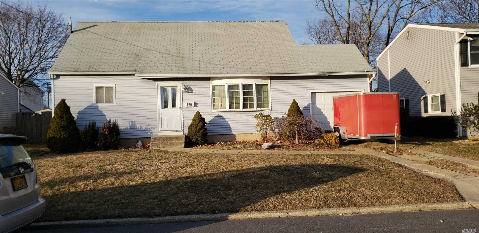 The Possibilities Are Endless In This Spacious Cape! Terrific Room Sizes, Plenty Of Storage, Gas Heat, Just Needs Finishing Touches! Plenty Of Value Throughout...Terrific Opportunity!