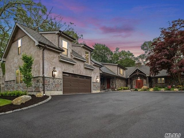 This Enchanting Fully Renovated 2016 Custom Built Home Is None Like You Have Ever Seen Before! Simply Jaw Dropping. Built W/ Granite Stone This Rustic Masterpiece Includes: Hw Flrs, 3 Stone Fireplaces, Custom Gourmet Eik, Custom Windows, Cathedral Ceilings, Exposed Interior Brick, Barn Doors, Reclaimed Wood Beams, 3 Master Suites, Serene Yard W/ Breathtaking Views. Fort Salonga Elementary, Located On Cul De Sac Makes This Home A Must See! Close To State Park, Beaches, Parkways And Village