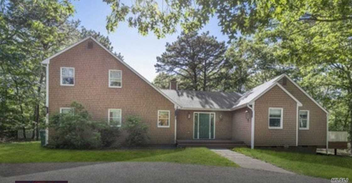 Large Property In Coveted Northwest Woods A Short Distance To The Heart Of East Hampton. This Four Plus Bedroom, Three Bath Home Plus Den, Office Or Fifth Bedroom With Fabulous Outdoor Space And Heated Pool! Y.