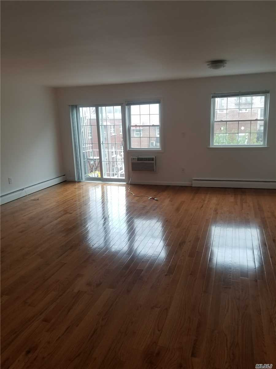 Brand New 2 Bedroom With Balcony In Sunnyside Hurry Wont Last This Brand New Apartment Is On The 2 Floor Of A Private House Features A Spacious 600 Sq Ft Living Room Dining Room 2 Fully Tiled Brand New Bathroom Brand New Kitchen With Lots Of Cabinets Spacious Bedroom With Lots Of Closet Space Close To Schools And Transportation 2 Block From 7 Train 46 Street Bliss Station Heat And Hot Water Included Gas&Electric Is Separate Call For A Viewing