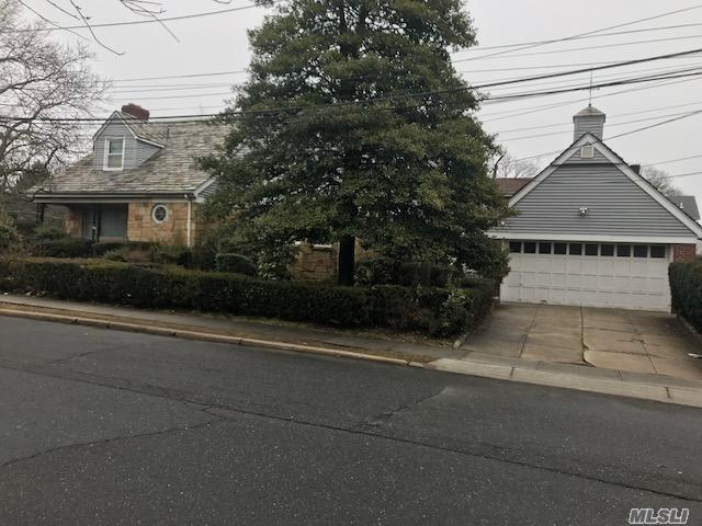 Colonial In The Heart Of Cedarhurst Features 3 Large Bedrooms, 2.55 Baths, Large Lr With Wood Burning Fireplace, X Large Fdr, Eik, Full Finished Basement, Large Property.
