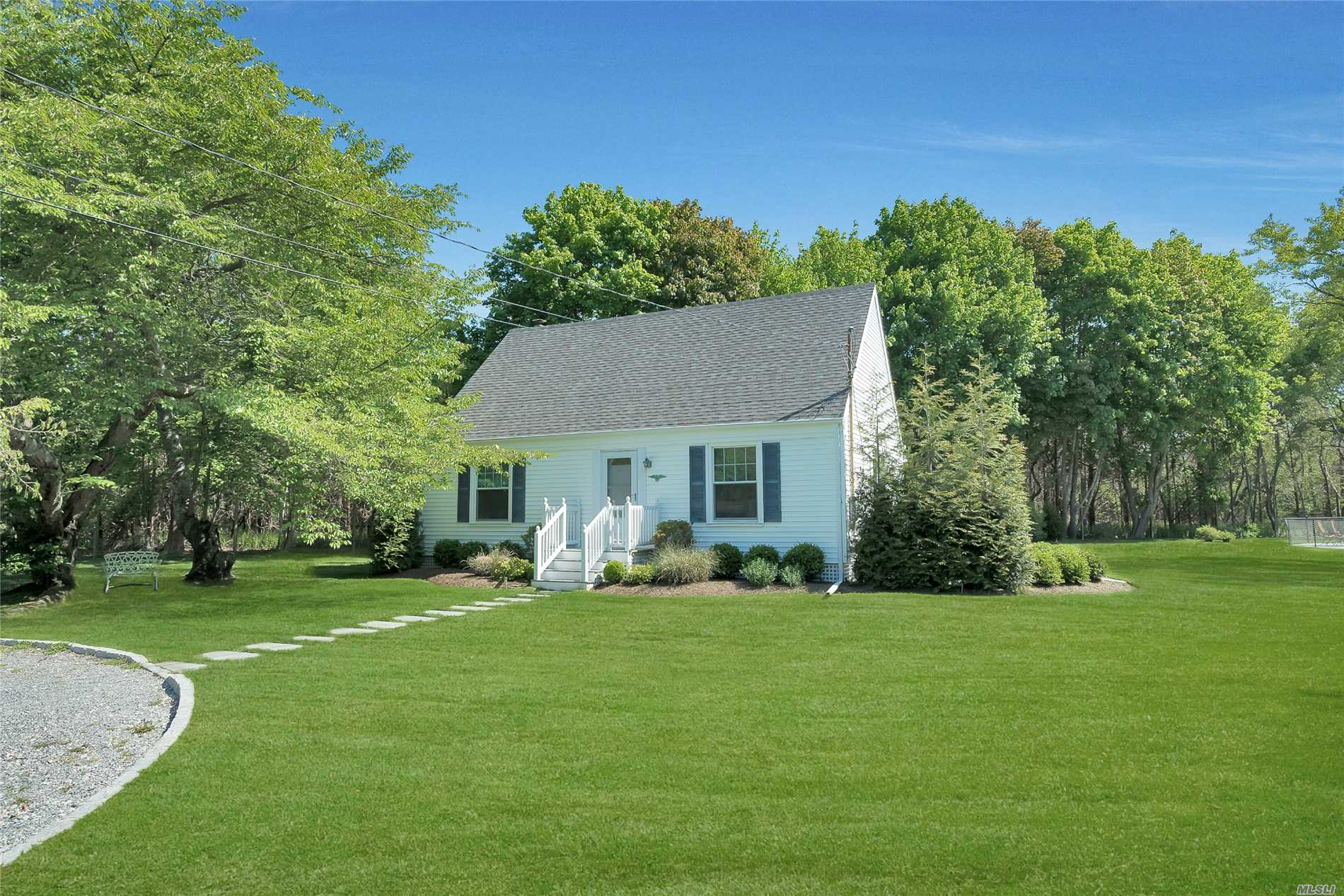 Escape To A Quaint, Three Bedroom Home Tucked Away In Westhampton, Just 3Miles From The Village Of Westhampton Beach. South Of Highway, It Sits On A Beautiful, 3/4 Acre, Fully Fenced Yard With Fenced Heated Inground Pool. Sun Drenched Living & Dining Rooms, Crisply Renovated W New Kitchen , New Baths And Two, Rear Patios. Master Bedroom En Suite On The Upper Level Enjoys An Open Loft Office Space For Any Left Over Work That Interrupts The Lazy Days Of Summer. Available For 2019.
