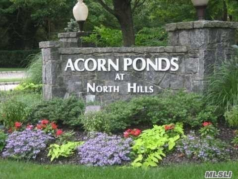 Beautiful Country Living Acorn Ponds Condo, 2Br, 2.5Bth, Lr. Dr, Eik, Sky Light, Lots Of Closets,  Wood Floors, 2Car Garage, Facing South, Sunny & Private And Quiet Location, Clubhouse, In/Outdoor Pools, Tennis Court, Gym, Children's Playground, Must See!!