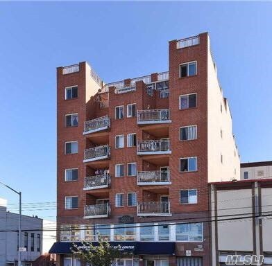 Newly Renovated, Bright & Spacious 2 Brs 1Bath, With Large South Exposure Balcony. Yearly Property Tax Is $537.75,  2020. Near Main St, Subway, And All. Condo Sqft Is 947.