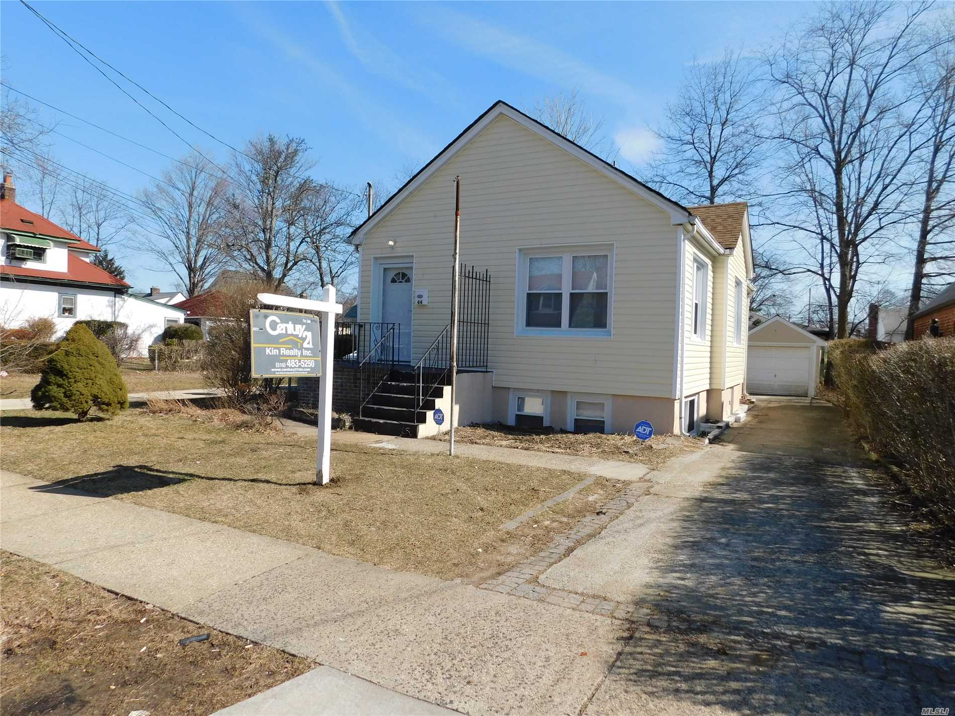Fully Renovated Ranch- New Kitchen & New Bath-All New Doors- Interior & Exterior; Hardwood Floors Throughout-New Windows-New Gas Heating System-Detached Garage & 4 Car Driveway...
