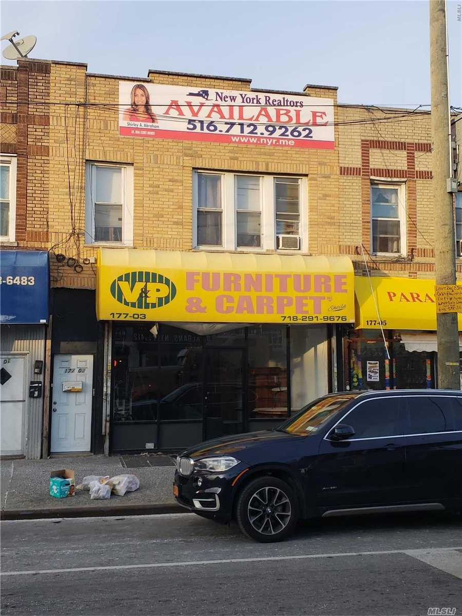 1240 Square Feet Store Front / Retail/ Office Space With Full Basement And Separate Garage For Storage. Completely Renovated Store Plus Basement.