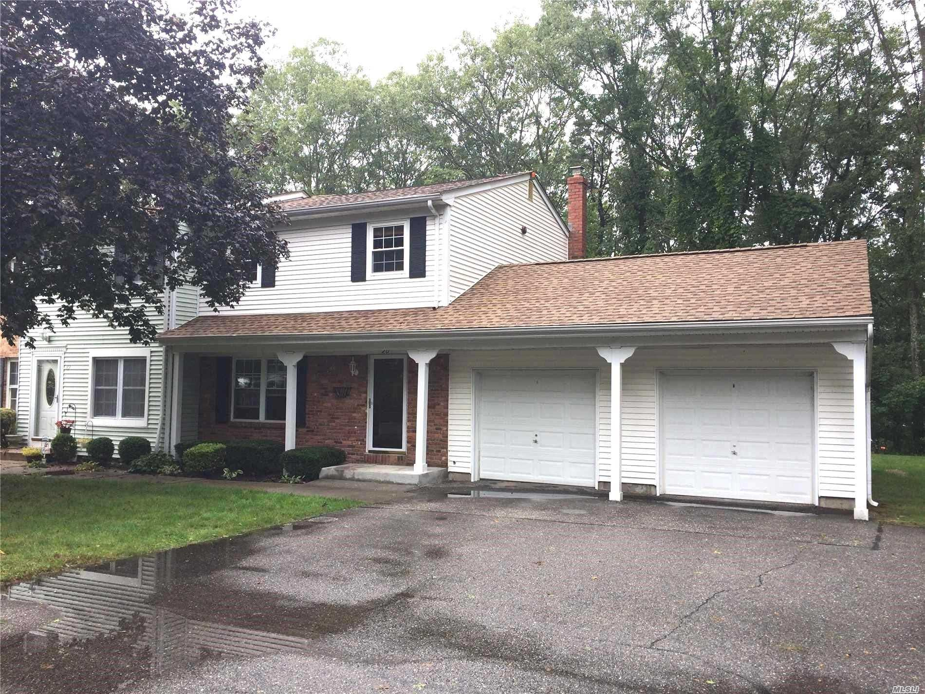 Sale May Be Subject To Term & Conditions Of An Offering Plan. Mint 3 Br All Updated, Dual Heating System Kit, Bth,  Crown Moldings, Chair Rails. Garage And Finished Bsmt Igp Club House, Tennis Courts, Basketball Courts And More Country Club Living!!