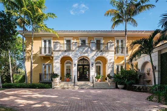 Stunning Bay, Harbor And Miami Skyline Views From This Addison Mizner-Inspired Waterfront Estate. Villa<Br />Bellavista, Built In 2002 And Meticulously Maintained, Located In A Quiet Cul-De-Sac On Key Biscayne'S<Br />Coveted Mashta Island. Residence Boasts 5 Suites Upstairs, 2 Suites Down For Office/Library/Service/Guest<Br />Quarters,  7.5 Baths,  Huge Master  Suite With Sitting Area,  Formal Living Room With Fireplace, <Br />Family/Entertainment Room, Formal Dining, Modern Kitchen, Breakfast Area, All Leading To Broad Open<Br />Terraces With Spectacular Water Views. Amenities Include Dual Entrances, Privacy Wall, Electrical<Br />Gates For Bothl Driveways, 3-Car Garage, Courtyards, Pool, Spa, New Sea Wall, 120Ft Of Waterfront<Br />And Dock For Large Yacht With Immediate Access To Smugglers Cove And Biscayne Bay.