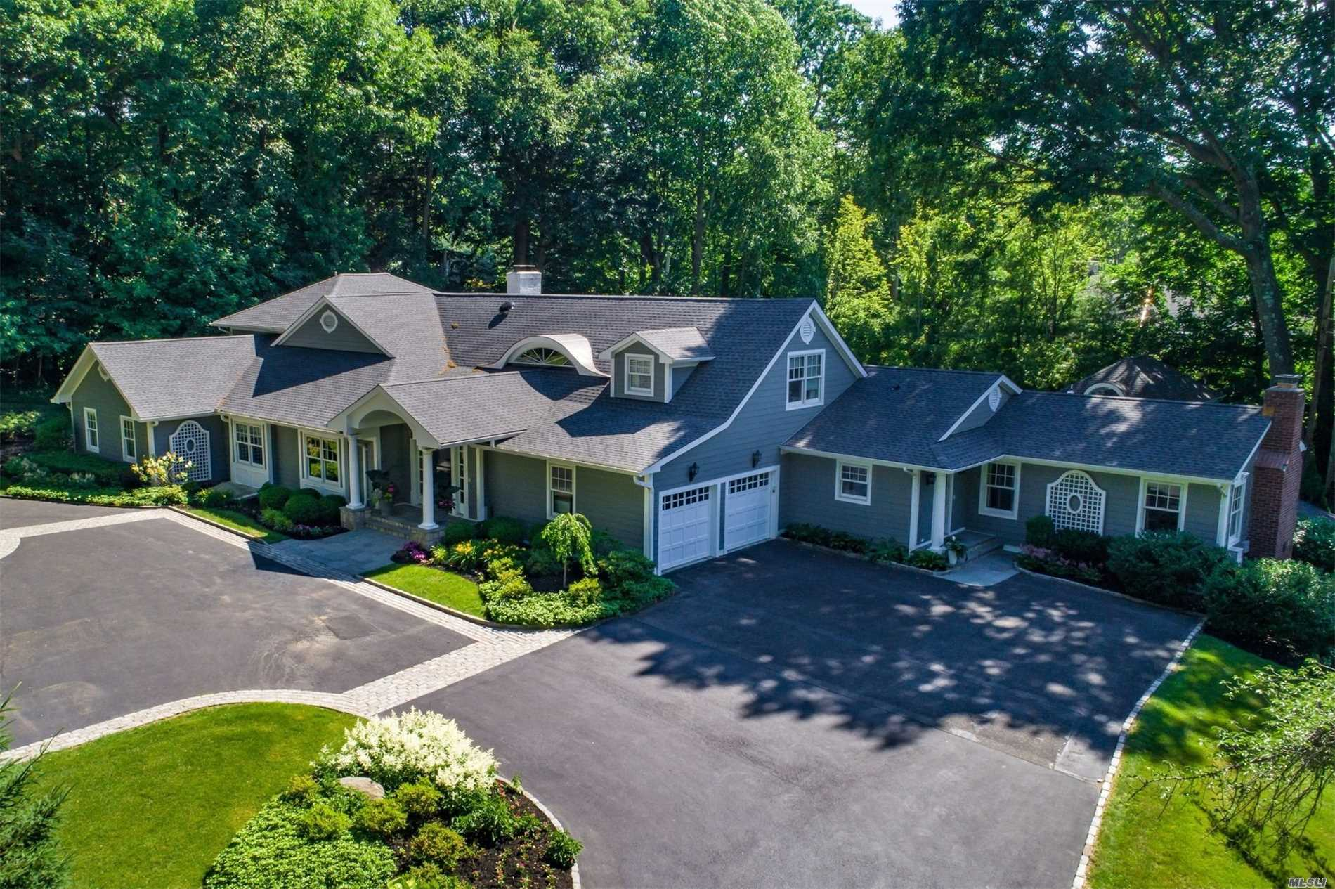 Updated 6000 Sq Ft 6 Bedroom, 3.55 Open Concept Home. Master Retreat (Approx 1200 Sq Ft) On First Floor. 1.46 Acres With Heated Gunite Pool, Pool House, Putting Green. 2 Gas Fireplaces. Mudroom/Laundry Room. Whole House Generator. 2018 New Roof And Hardie Board Siding