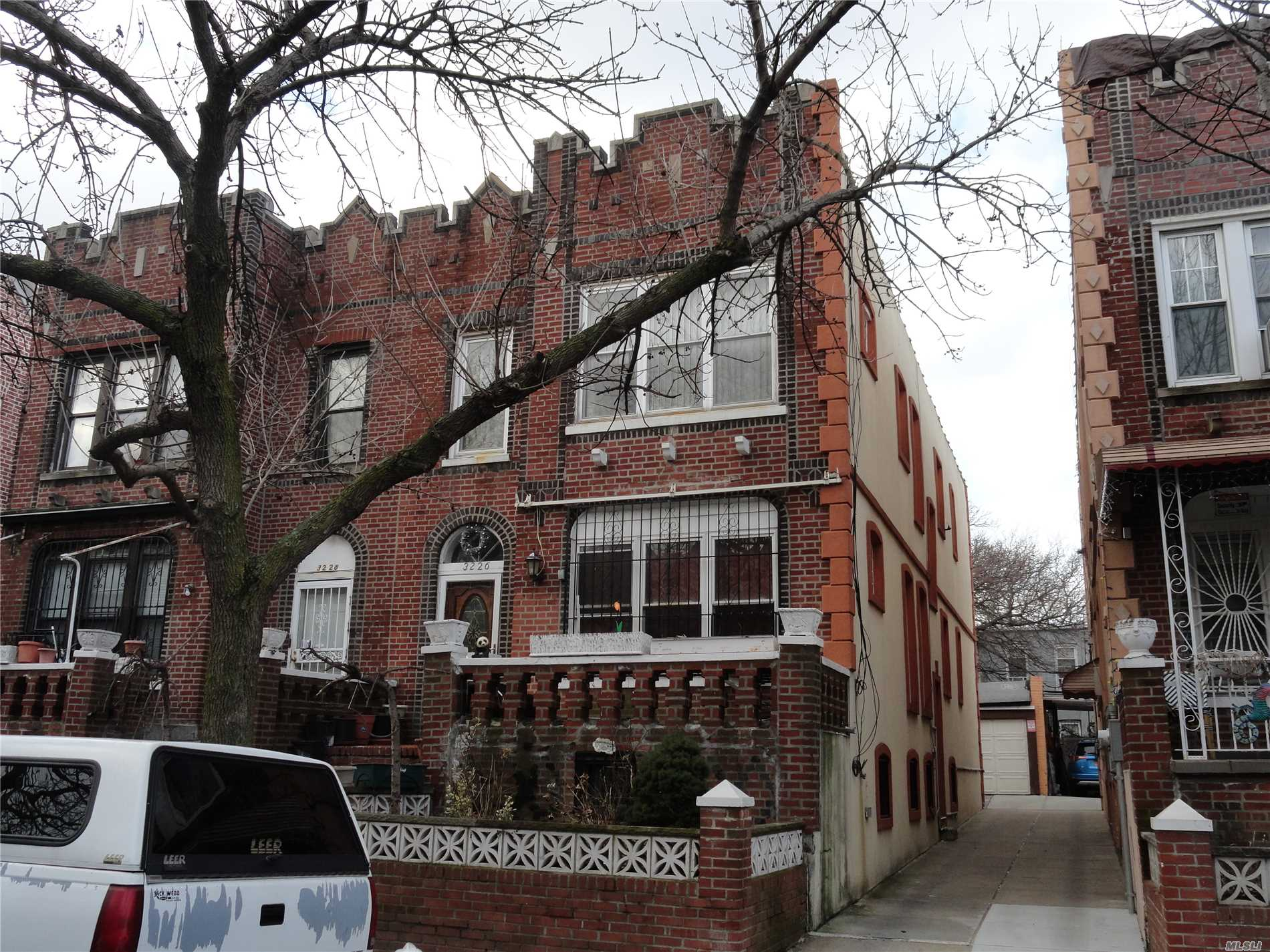 Location!! Location!! Location!! When Location Meets Convenience And Affordability!! This Huge 2 Family Solid Brick Home Has It All!! Near All Kinds Of Stores And Shops, Near Public Transportation And Near Major Highways!! About 20 Minutes Drive To Midtown Manhattan!! Great Rental Income, 2 Car Garage Full Finished Basement And Much More!! Interest Rates Are Still Low And Rents Are At An All Time High, Making This A Perfect Time To Own This Property!! Do Not Delay, Call Today For More Info!!