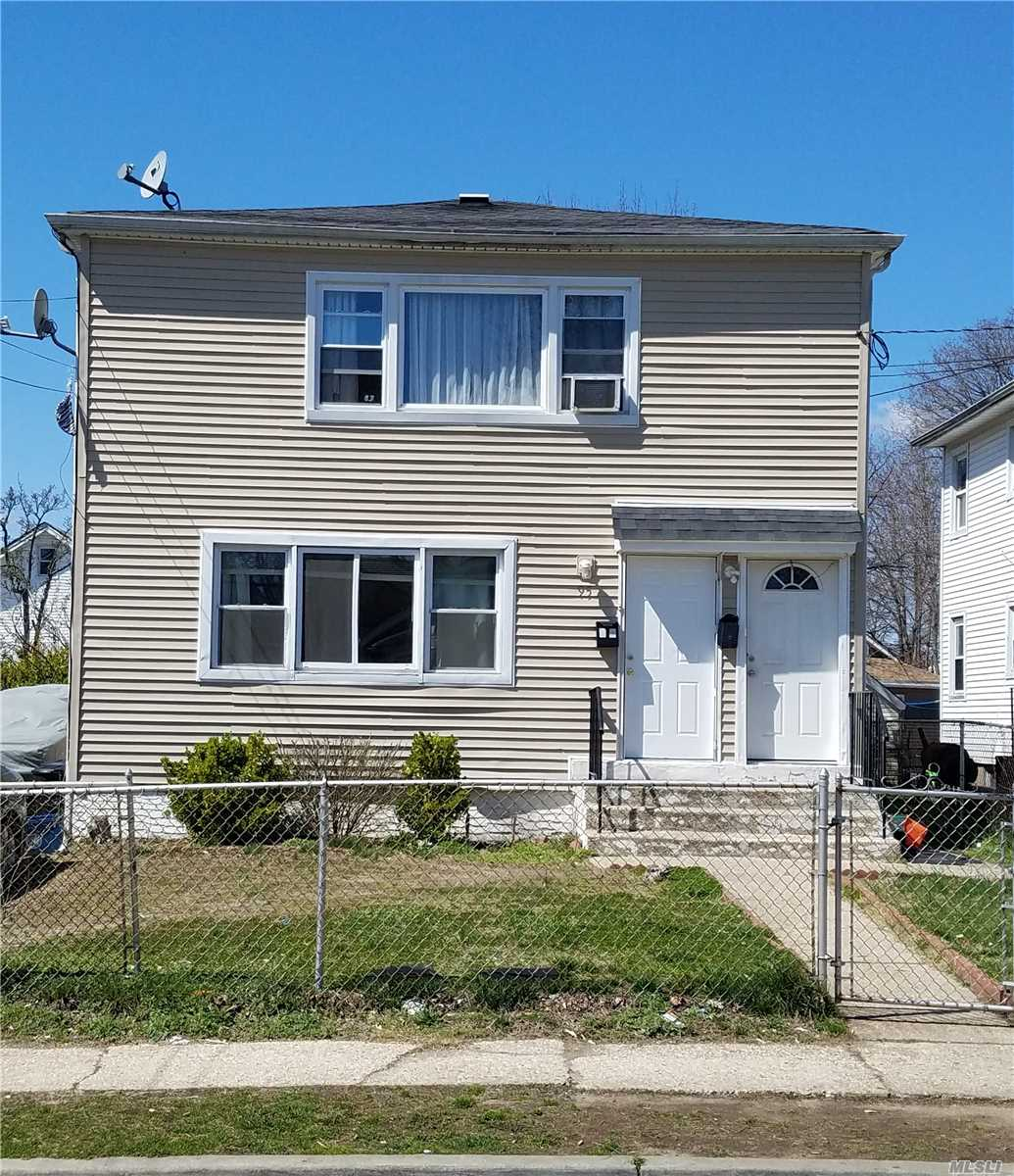Gorgeous Legal 2-Family Newly Renovated Duplex - $56K Rent Roll. Investor House Only. Tenants Lease Intact. Comes Tenant Occupied.