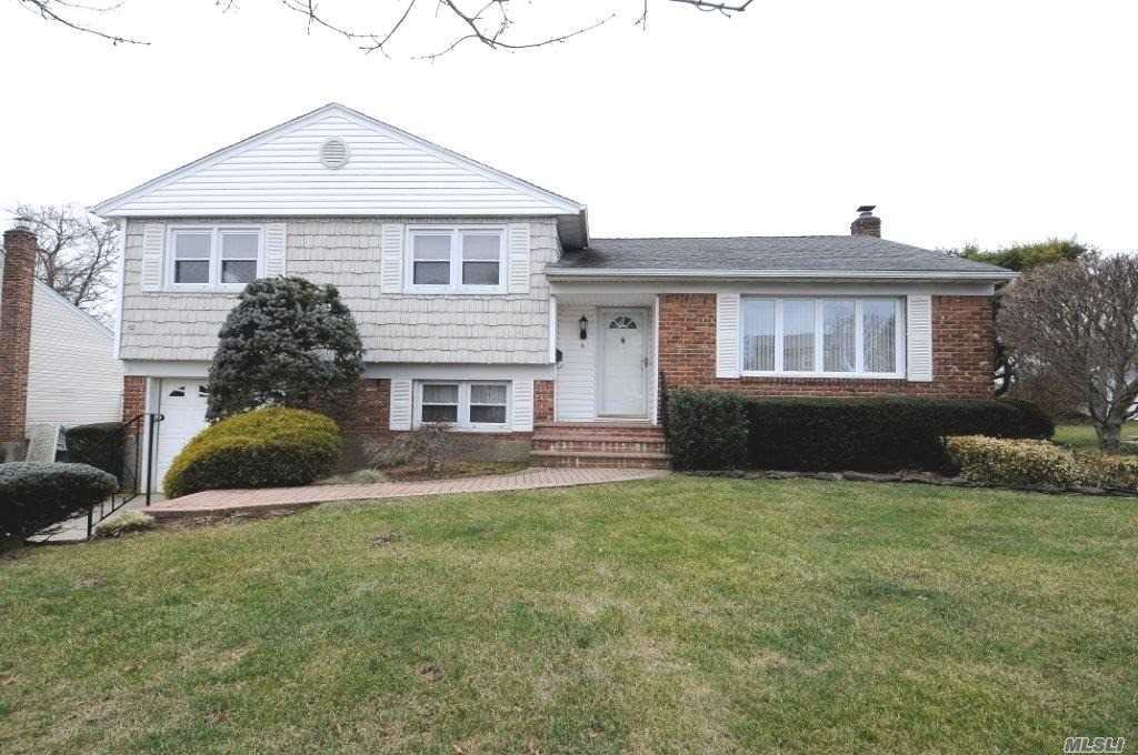 Lovely And Updated 3 Bedroom 3 Bath Split Features Eat In Kitchen Double Oven Formal Dining Room With Anderson Sliders To Deck With Retractable Awning & Covered Patio- Private Fenced Yard ...2 Beautiful New Full Baths-Hardwood Floors- New Brick Walk And Stoop-1Car Garage-Updates Include Roof- Windows-Furnace-Igs-Cac 2003