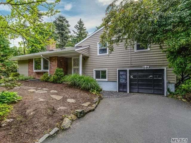 This Lovely Residence Is Nestled On 1/3 Acre Of Beautiful Private Property With A Pristine Lush Backyard. This Home Offers A Brand New Updated Kitchen With Granite Countertops, Freshly Painted, Updated Finished Basement, Brand New Vinyl Siding, And Stone Patio. Separate Office With Private Entrance And 1/2 Bath. Close To Train. Not To Be Missed!