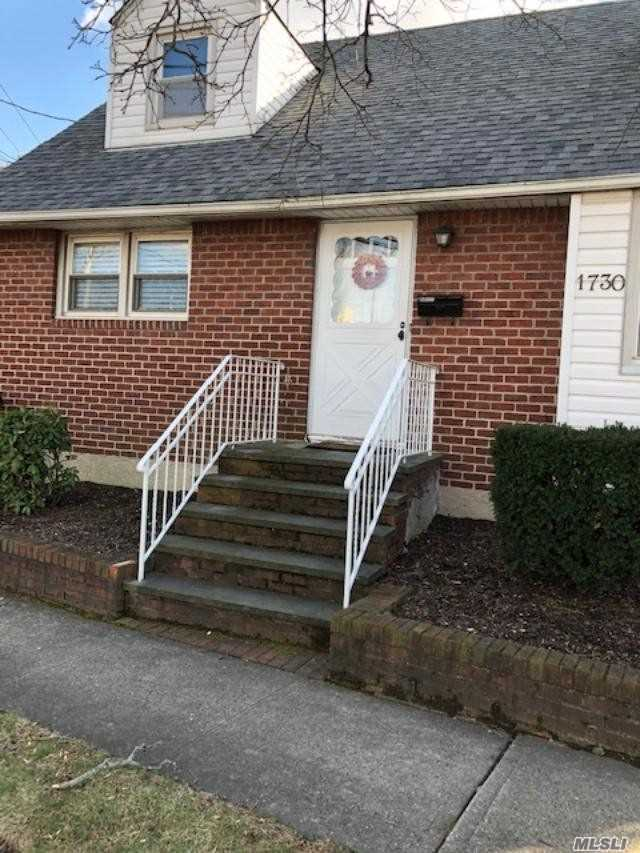 Lovely, Clean And Spacious Cape--Updated Kitchen And Baths--1/2 Finished Basement With Cedar Closet And Plenty Of Room For Playroom Or Den -- All Nice Size Rooms (2nd Floor Bedrooms Are Huge)--Great House For The Large Or Growing Family-- Roof, Gas Burner For Heat And Hot Water Heater Are All Approximately 5 Years Old--Desirable North Bellmore School District #4-- Cement Patio In Yard And 3 Car Driveway--***Possible Mother/Daughter With Proper Permits*** Price Reduced --Motivated Seller!!!!