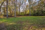Build Your Dream House. Beautiful Flat Buildable Subdivided Lot. Horse Property. Very Private. Taxes To Be Determined. Close To Major Highways, Shopping And The Lirr.