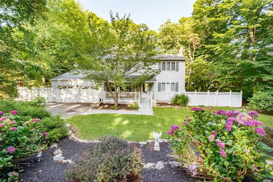 Beautiful 3 Bedroom, 2.5 Bath Colonial On Sylvan Ave, Prestigious North Miller Place. Open Updated Kitchen W/ Stainless Appliances, Granite Counters , Tile Backsplash And Breakfast Bar. Formal Dr, Spacious Lr W/ Elegant Wood Fireplace And Decorative Mantel. Cac & Separate Hw Heater. Natural Gas. Full Finished Basement W/ Full Bathroom. 2 Car Garage W/ Ample Storage Space & 15' Ceiling. In Ground Heated Saltwater Pool W/ New Liner. Trex Deck. 10'X12' Vinyl Shed. New Paver Walkway To Front Porch.