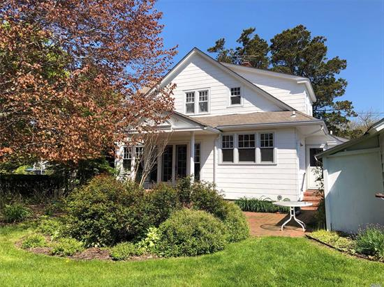 Beautiful, Meticulously Maintained 3/4 Bedroom Colonial In South Sayville. Close To Beaches, Ferries, And Sayville Downtown. Many Well Chosen Updates. Charm Of Yesterday With Todays Wants.  Come And See For Yourself. You Will Fall In Love.