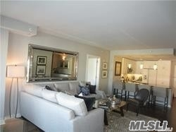 Luxury Waterfront Condo For Active 62+. Totally Furnished, Customized Unit In Mint Condition Featuring Master Bedroom, Master Bath, Additional Bedroom, Full Bath, Living Room W/Fp, , Dining Area, Eat-In Kitchen, Office And Balcony With Views Of Manhasset Bay. Amenities Include Fitness Room, Rooftop Terrace With Barbecue, Virtual Doorman, Garage Parking.