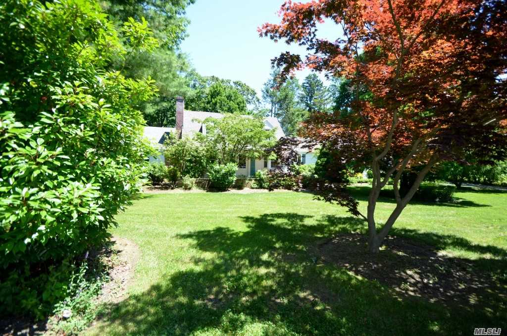 Lovingly Maintained Old World Wide-Lined Cape Cod On Gorgeous 1/2 Acre With Inground Pool. 4 Bedrooms, 3 Baths, 2 Fireplaces. A Must See!!