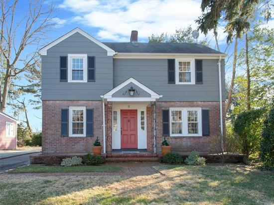 Beautifully Updated Colonial On Lovely Cul-De-Sac Boasts Newly Installed Paver Patio, Sun Drenched Kitchen & Family Room, As Well As A New Bathroom Upstairs. New S/S Appliances And Gorgeous Hardwood Floors Make Moving Into Your New A Snap!