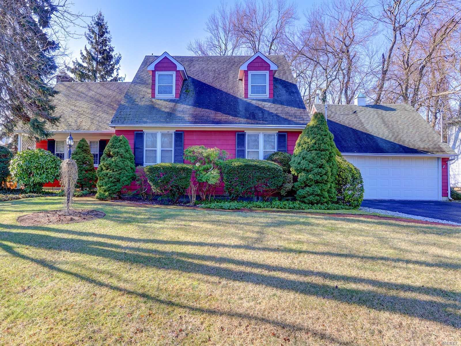 Come See This Expanded Cape Featuring 4 Large Bedrooms 2 Full Baths, Living Room W/Fireplace, Formal Dining Room, Eat In Kitchen, Oversized 2 Car Garage On Large Property.. Babylon Village Amenities - West Babylon Schools