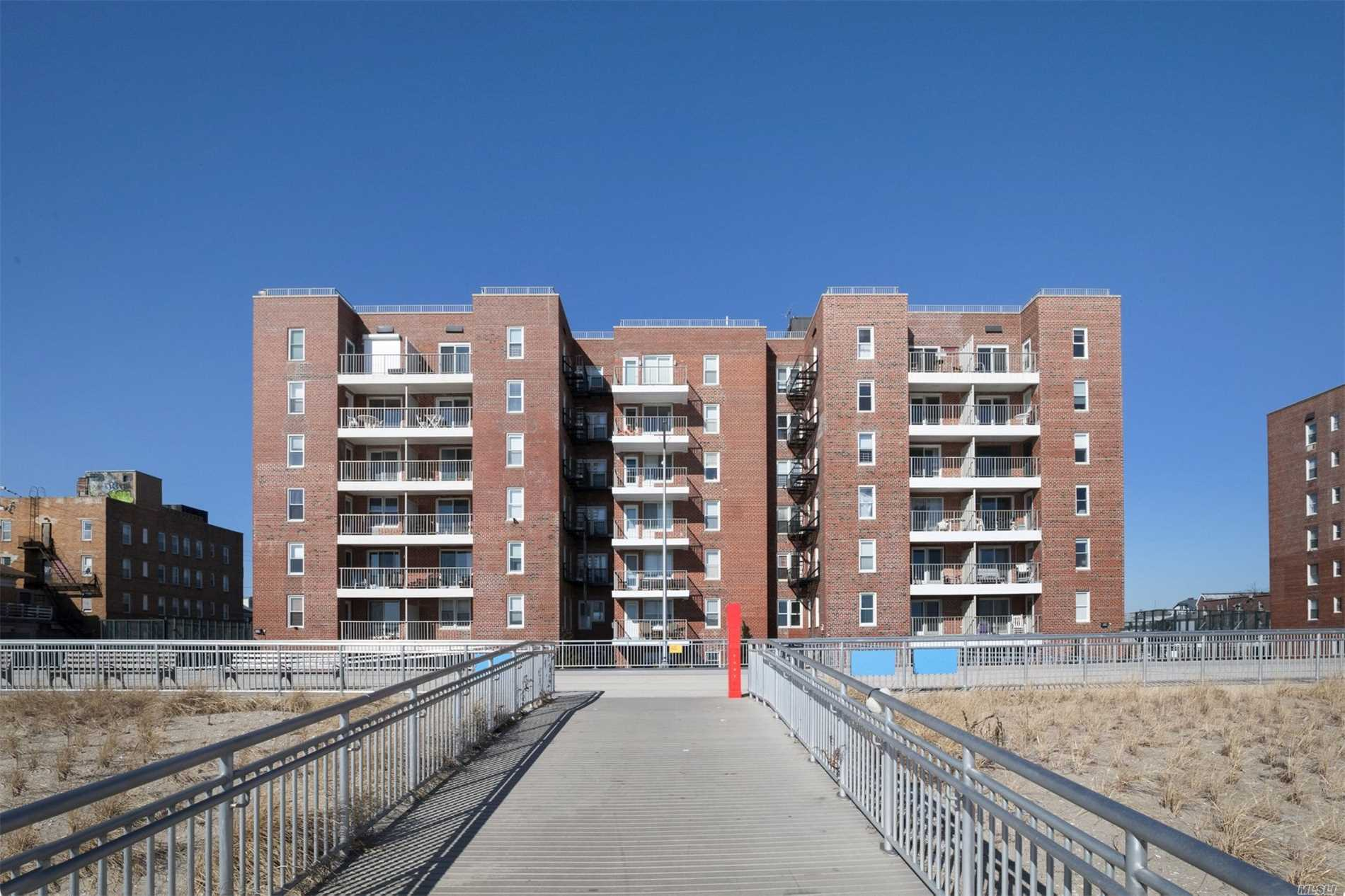 Move Right In To This Fabulous Oceanfront 2 Bedroom Home In A Very Clean And Quiet Building. This 6th Fl Unit Is Being Used A 1Br But Can Be Easily Converted Back To A 2Br. Enjoy The Gorgeous Views From Your Private Terrace Overlooking The Boardwalk Offering 7 Miles Of Biking, Jogging, Lively Concessions Stands, Arts & Craft Fairs And So Much More. Hardwood Floors Thru Out. Bike And Storage Room Is Optional. Parking Is Extra And Just Steps From The Building. Pets Are Not Permitted.