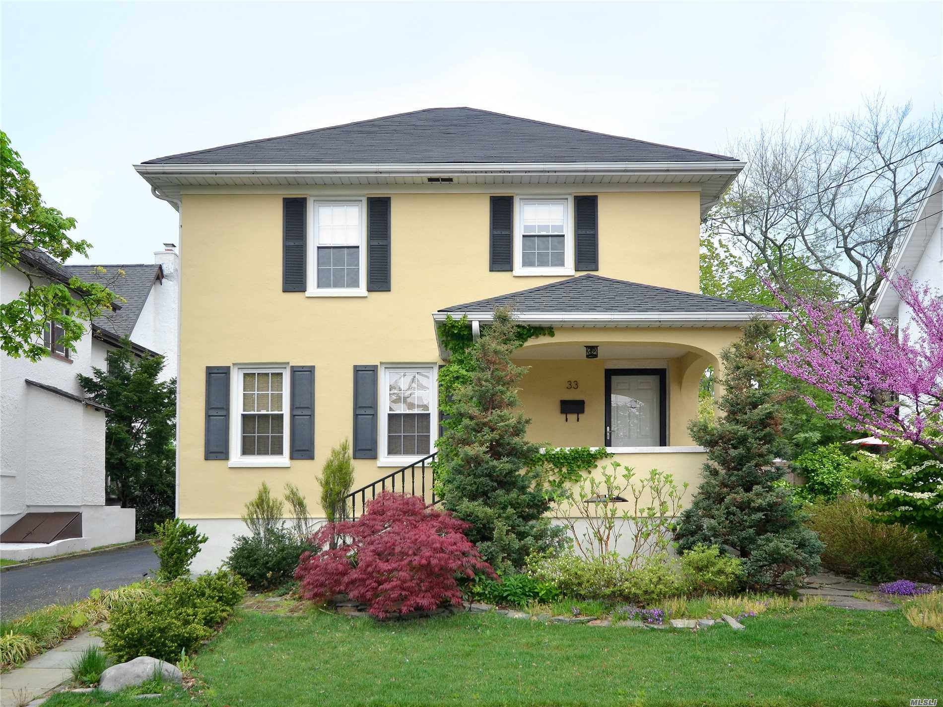 Beautiful Vintage Home Totally Redone, Set In A Beautiful Neighborhood.  Long Driveway With 2 Car Garage.