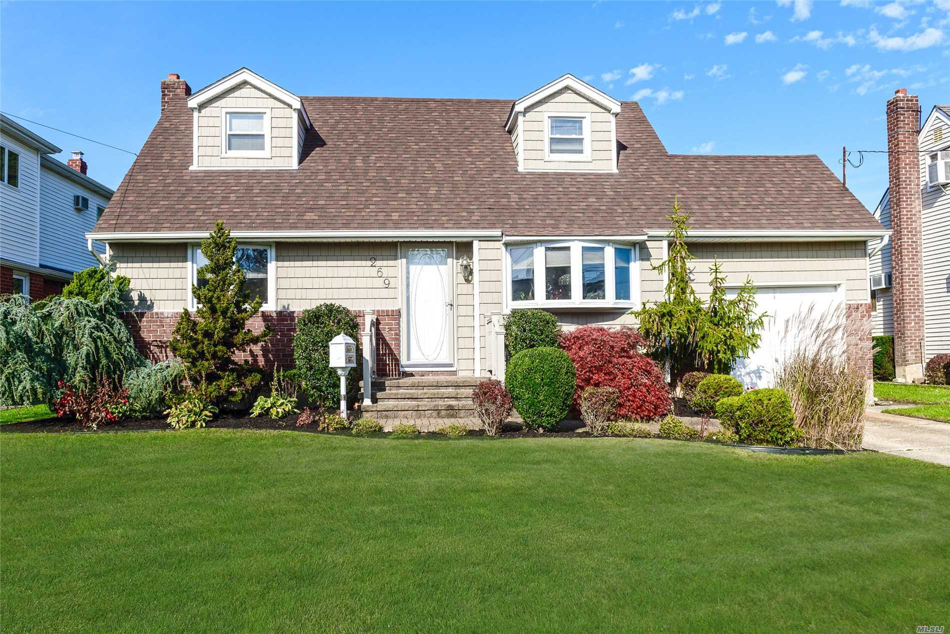 Lovely 4 Bed, 2 Bath Cape In North Massapequa For $449, 000. Situated Midblock With Beautiful Curb Appeal, This Home Is Ready For A New Owner. Boasting New Siding, Windows, Roof & Front Walkway, This Is A Great Home W/ Hardwood Floors, Finished Basement, 1 Car Garage, Private Yard & Much More!