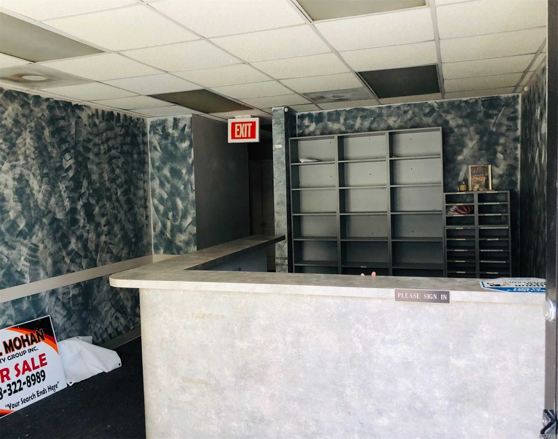 1st Floor Mix - Use For Rent. All Types Of Business Will Be Considered. This Space Is Currently Set Up As A Dr Office. There Is A Full Open Basement Attach To This Floor And Is Included.