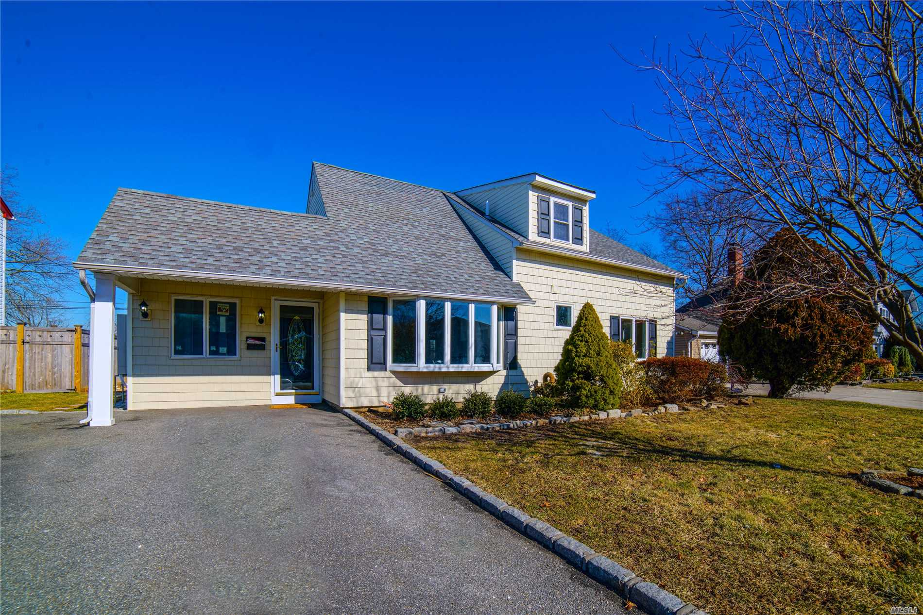 Beautiful Expanded Ranch Completely Renovated Like New 4 Bedroom, Plus Office, New Kitchen, 2 New Bathrooms, Large Open Floor Plan, Hardwood Floors, New Electrical 200 Amp Service, All New Plumbing, New Hvac. Large Oversize Backyard. New Patio, Cable Ready, Shed W/Heat, In-Ground Sprinklers - New State Of The Art Heating System. 7 Airheads. 3 Base Boards.