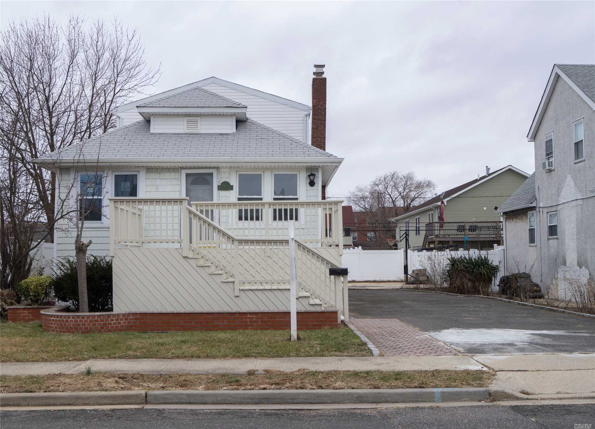 Newly Renovated, Spacious Home In The Village Of Island Park That Features New Hard Wood Floors, Windows, Kitchen, Bathrooms And Much More. The Photos Will Tell The Whole Story. In Walking Distance To Lirr, Bus, Restaurants, Shopping, Park, Etc. The Main Floor Of This Property Is Elevated 6 Feet From Ground Level. There Is An Elevation Certificate Attached To This Listing The Seller Has Completed For All Potential Buyers To Use In Order To Get Accurate Flood Insurance Quotes.