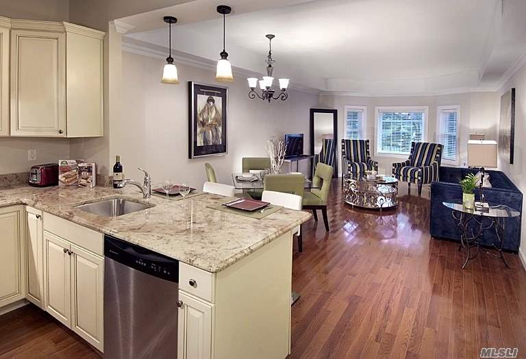 Valley Stream. Brand New 2 Bedroom/2 Bath Apartment Features Chef's Kitchen With Granite Counter-Tops & Stainless Steel Appliances, Full Sized Washer/Dryer In Unit. Hardwood Floors! Ideally Located Near Lirr Station/Shopping/Dining. Pet Friendly. On-Site Gym And Resident's Lounge. Indoor Garage Parking Available