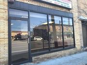 Excellent 1200 Sq Ft. Storefront For Rent In The Heart Of Baldwin! High Traffic Location! Steps To The Lirr. Commuter's Delight! Plenty Of Parking In Back Of Building With Private Entrance In Back And Front Into Storefront. Potential For Many Business Types! Tenant Pays The Electric, Gas, And Water.
