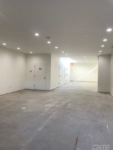 Brand New Building With 11 Ft Ceiling, Good For Medical Offices All Kinds School Etc. Community Facilities. 2 Bathrooms, Parkings Included. Highly Visible From Northern Blvd.