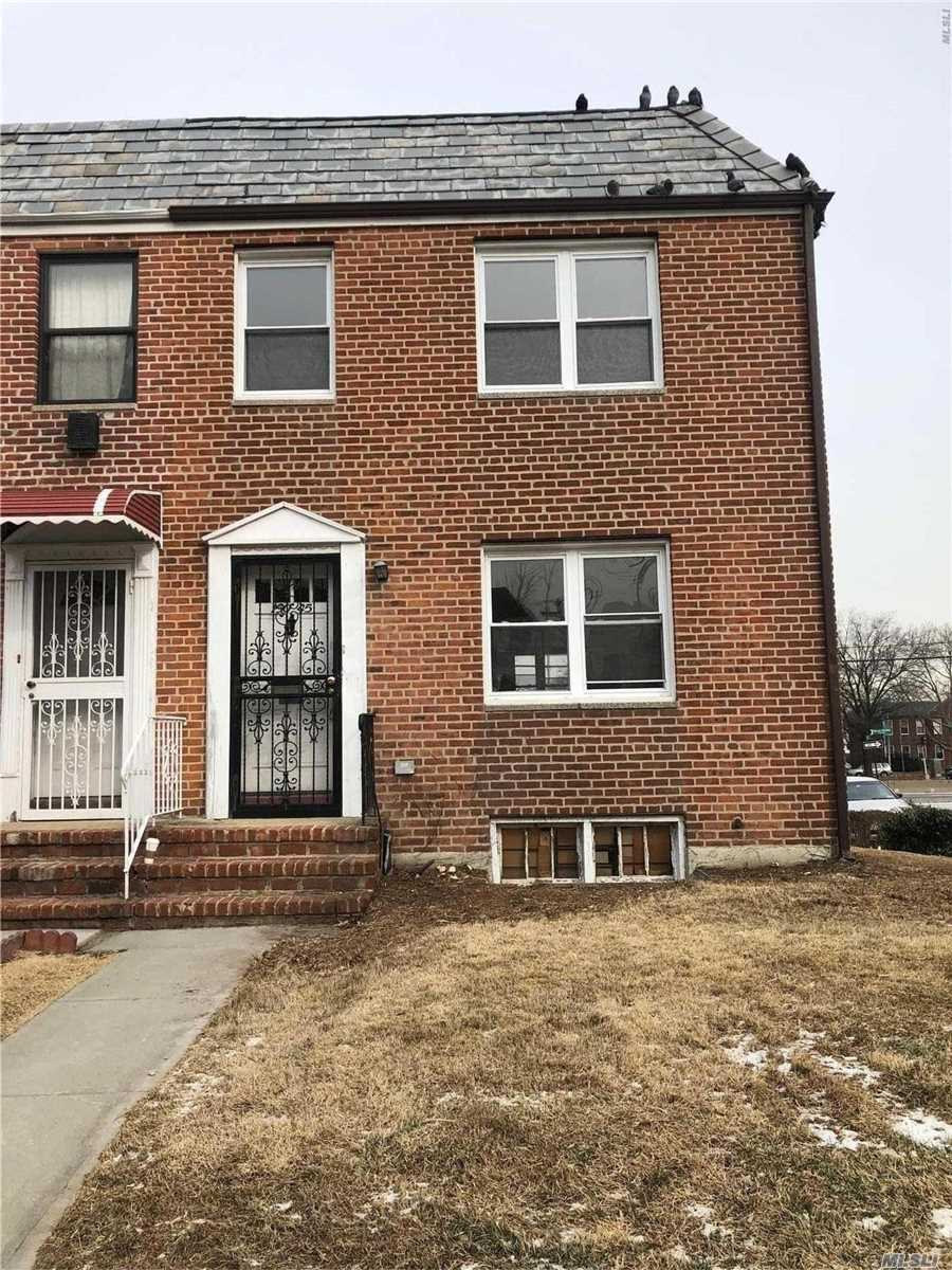 Location Location Location!! Close Proximity To Queens College! House Sold As Is! Updated Windows. Wood Floors Throughout! Corner Property With Huge Driveway. Lots Of Parking And Garage!