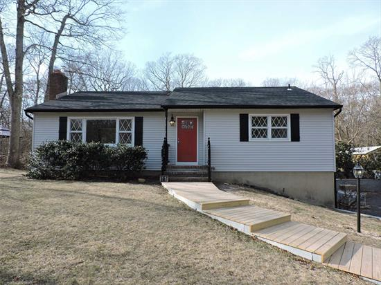 Fabulous All Newly Renovated Home In Pvt Beach Community! Attention To Details! New Roof, Siding, Electric, Heating System. Gleaming Oak Floors, New Quartz Kitchen W/Ss Appliances, 2 New Marble Baths, Bsmt W/Ose. Views From Every Window! Low Taxes! For The Most Particular Buyer.