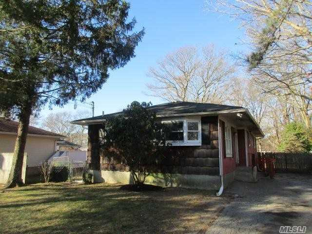 This Is A Fannie Mae Homepath Property. Three Bedroom Ranch Home With One Full Bath. Living Room With Bay Window And Large Eik. Full Finished Basement With Additional Living Space All On Deep Lot. Close To Shopping, Restaurants And Smith Point Ocean Beach.