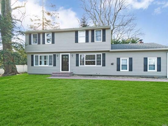 Beautiful Colonial Home Across From The Connetquot River! 3 Bedrooms, 2.5 Baths, Hardwood Floors, Updated Kitchen, Roof & Heating